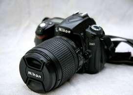 Vendo Nikon D90 +18-105