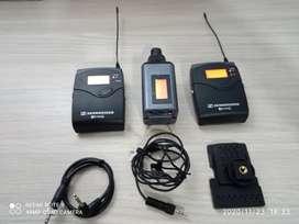 Micrófono sennheiser ew100 G3 de solapa