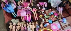 Muñecas Barbie originales,accesorios .