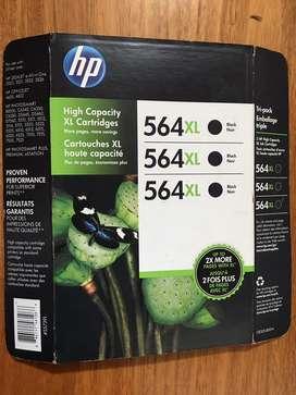Vendo seis (6) Cartuchos impresora HP564XL