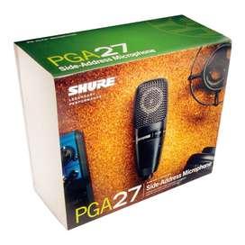 Microfono Shure PGA27-LC Condensador