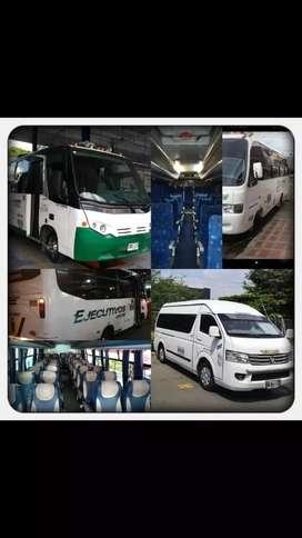 Transporte de busetas