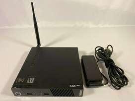 Lenovo ThinkCentre M73 Tiny Ultra Small USFF Intel Core i3 4GB RAM 500GB HDD wifi