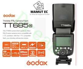 Flash Thinklite Godox TT685N i-TTL, HSS, Sistema X, para Nikon