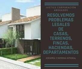 Abogados LOJA Justice Corp. RESOLVEMOS PROBLEMAS LEGALES DE CASAS, FINCAS, HACIENDAS, QUINTAS