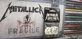 Metallica White Fang picks