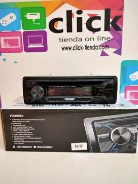 Radio Bluetooth CD DVD USB FM mascarilla extraíble
