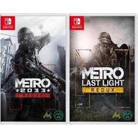 Metro Redux para Nintendo Switch