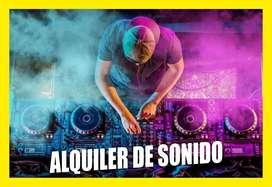 ALQUILER DE SONIDO LUCES DJ FIESTAS EVENTOS FOTOGRAFIA VIDEO BODAS 15 AÑOS BABY SHOWER ANIMADOR MAESTRO DE CEREMONIA VIP
