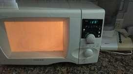 Microondas sin plato que gira