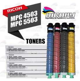 Toner Ricoh - Mpc 4503 / 5503 COLORES