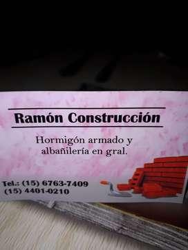 Trabajo de construccion,albañileria en gral.