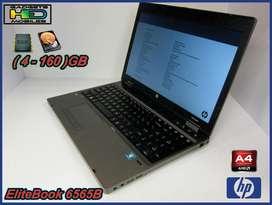 HP 6565B AMD A43310MX 2.1GHZ,4GB RAM,250GB HDD WIN7 PRO BAJO PEDIDO