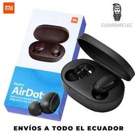 Audífonos Bluetooth Inalámbricos Xiaomi Redmi Airdots Earbuds Samsung Iphone Android IOS Control Táctil Música Llamadas