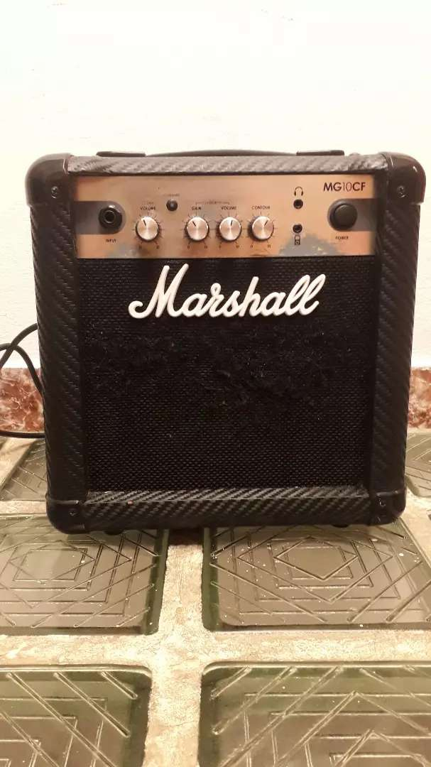 Vendo o cambio marshall MG10 0