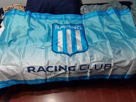 Bandera De Racing Club 150cmx90cm