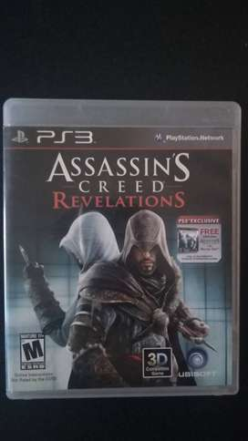Vendo o cambio Videojuego PS3 - Assassins Creed 1 + Revelations