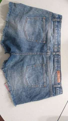 Short de jeans scombro original