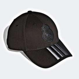 gorra adidas real madrid negra original