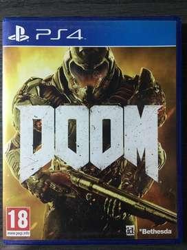 Videojuego Doom ps4