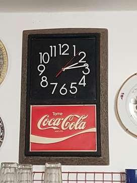 Reloj Vintage Coca Cola