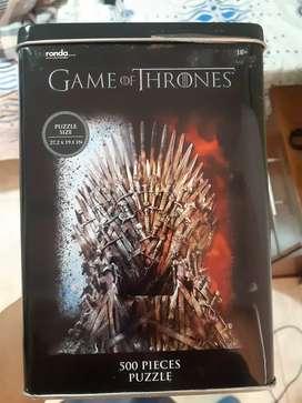 Rompecabezas ronda edicion especial game of thrones