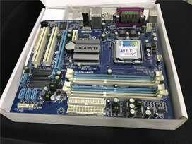 PLACA MADRE SOCKET 775 SOPORTA DDR3 8 GIGAS Y DDR2 8 GIGAS