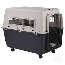 Kennel Transportador Jaula para perros grandes L100 - Cumple Normas IATA