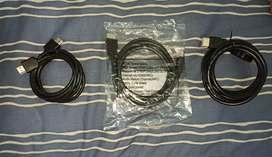 Cables HDMI DE 1M - 1.5M - 2M