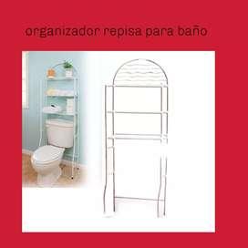 Organizador repisa para baño