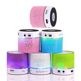Parlante Bluetooth Altavoz Music Portatil Manos Libre Led Fm
