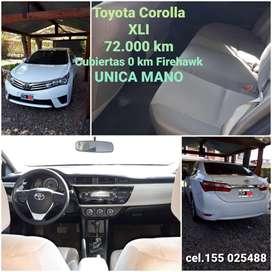 Vendo Toyota Corolla XLI CVT