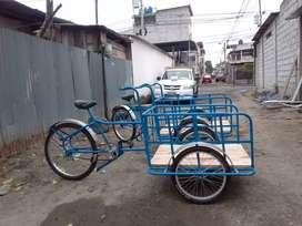 Se vende triciclos