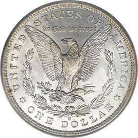 Moneda un dolar 1882