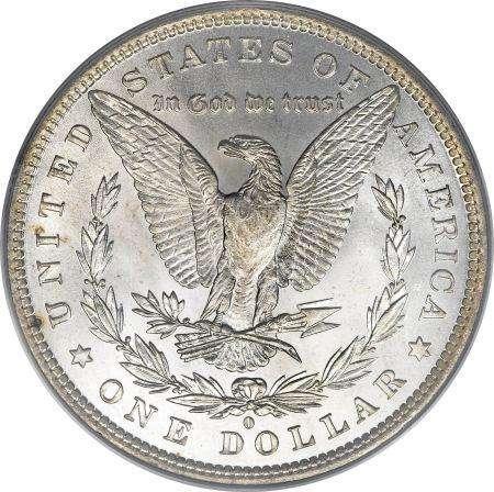 Moneda un dolar 1882 0