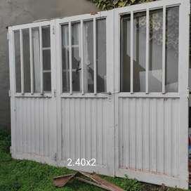 Portón, puerta, ventana