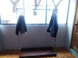 Armarios, armadores,chaquetero sensillo metal madera