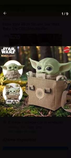 Baby Yoda Mandalorian con Sonido Bolso Mattel 28cm