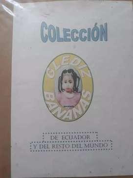 VENDO COLECCIÒN DE ETIQUETAS DE ECUADOR Y RESTO DEL MUNDO