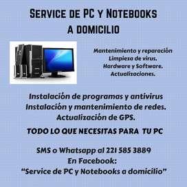 """""""SERVICIO TECNICO DE COMPUTADORAS, NOTEBOOKS Y NETBOOKS. INSTALACION Y"""