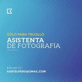 ASISTENTA DE FOTOGRAFÍA