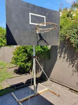 Vendo jirafa, tablero y aro de basquet