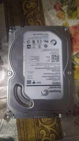 Remato disco duro de 2 tb - barracuda para repuesto