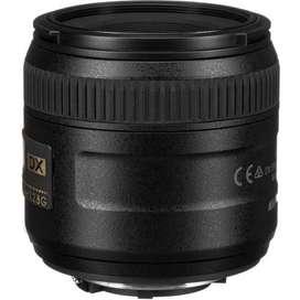 Lente Nikon 40mm AF-S