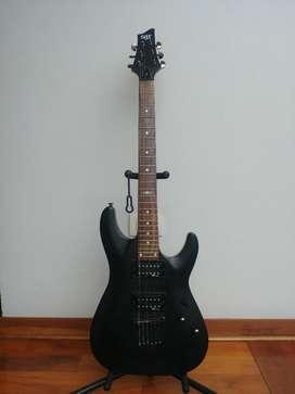 Guitarra Electrica Schecter Negra