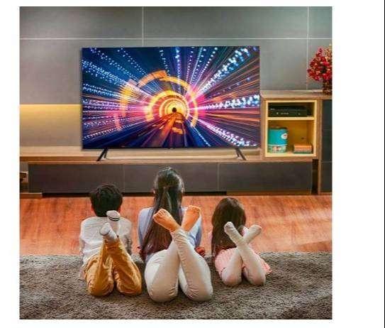 "TV SAMSUNG 75"" Pulgadas 180 Cm 75TU7000 LED 4K-UHD Plano Smart TV 0"