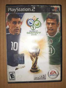 Juego ps2: FIFA WORLD CUP GERMANY 2006
