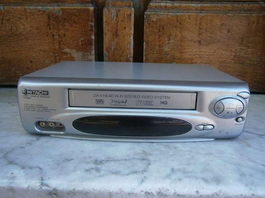 videograbadora hitachi mod.  vt-m866 hi-fi 0