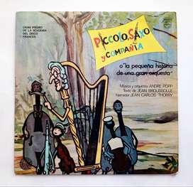 Piccolo, Saxo Y Compañía - Disco Lp