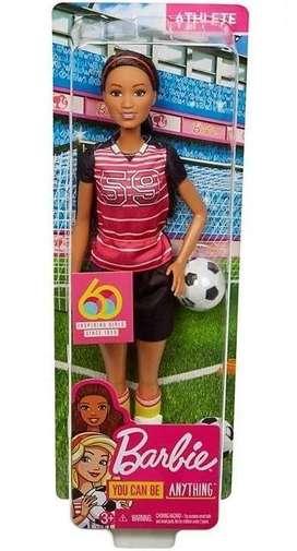 Muñeca Barbie Futbolista 30 cm Mattel